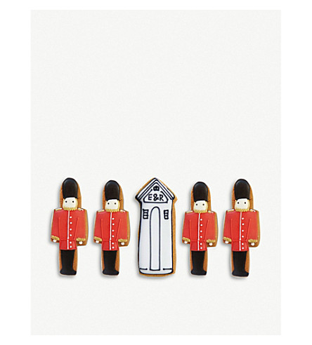 BISCUITEERS Queen's guard biscuit gift box
