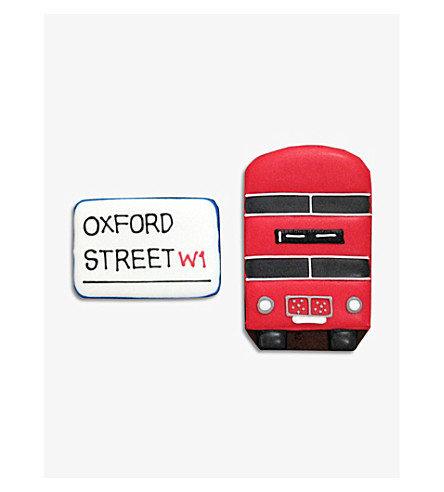 BISCUITEERS Oxford Street Bond Street biscuit card