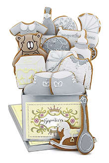 BISCUITEERS New Baby biscuit tin