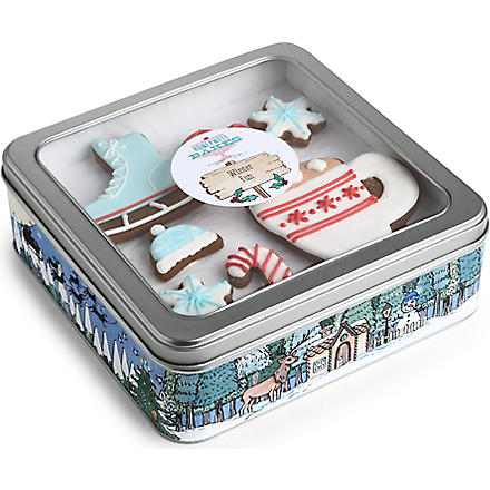 Winter Fun gingerbread gift set