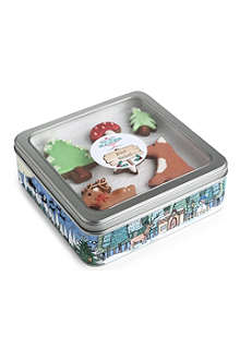 HONEYWELL BAKES Winter Woodland gingerbread gift set