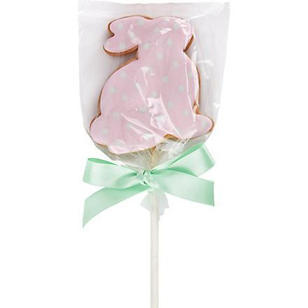Easter Bunny cookie pop