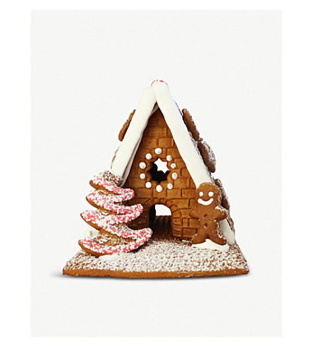 CHRISTMAS Gingerbread house and man 600g