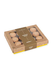 SELFRIDGES SELECTION Box of 12 traditional mini mince pies