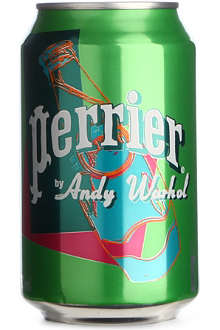 PERRIER Andy Warhol sparkling water can 330ml