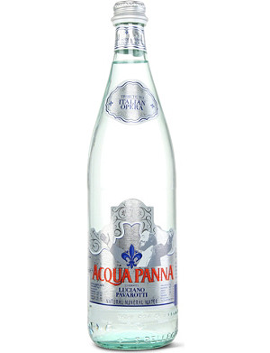 NONE Pavarotti limited edition natural mineral water 750ml
