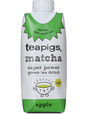 TEAPIGS Matcha apple tea drink 330ml