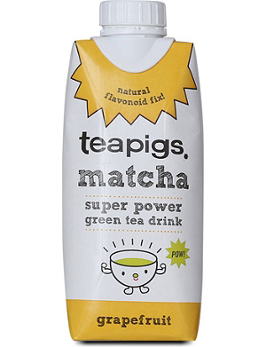 TEAPIGS Matcha grapefruit tea drink 330ml