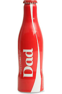 COCA-COLA Dad limited edition bottle 250ml