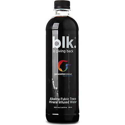BLK WATER Mineral-infused water 500ml