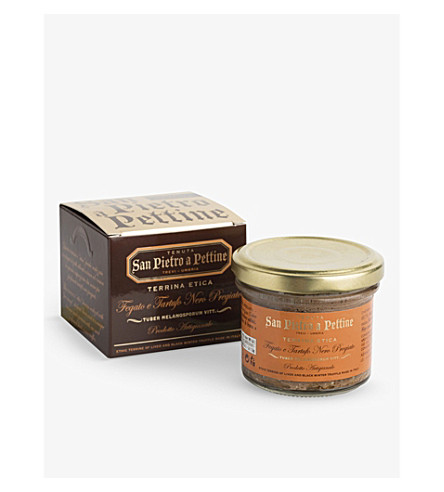 THE FINE TRUFFLE CO Black truffle and chicken liver pâté 90g