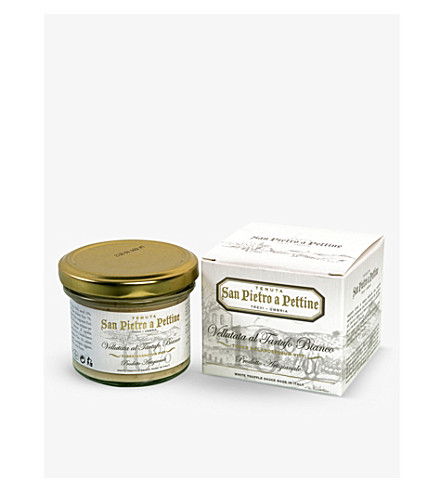 THE FINE TRUFFLE CO White truffle sauce 90g