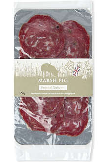MARSH PIG Fennel salami 100g