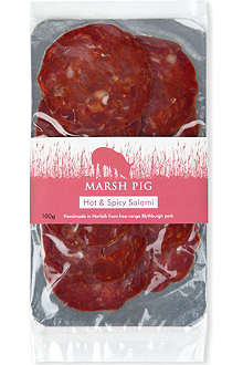 MARSH PIG Hot & Spicy salami 100g