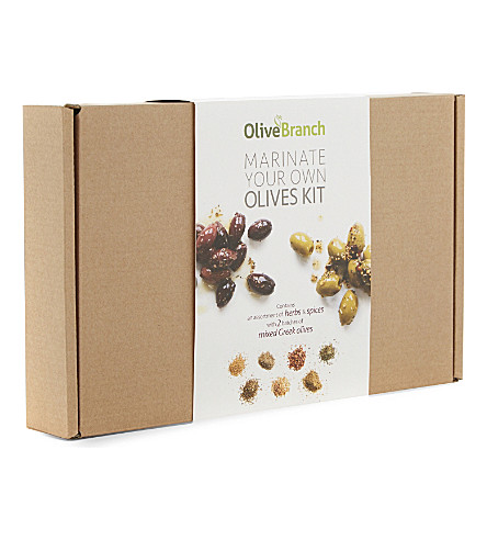 OLIVE BRANCH Marinate your own olive kit