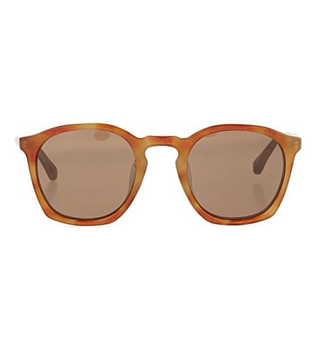 DRIES VAN NOTEN Tortoiseshell acetate sunglasses (Light tortoiseshell