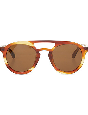 DRIES VAN NOTEN Tortoiseshell acetate sunglasses