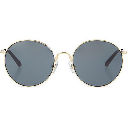 DRIES VAN NOTEN Metal-rimmed sunglasses (Gold