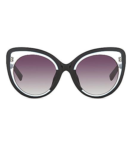 ERDEM EDM141 cateye sunglasses (Black