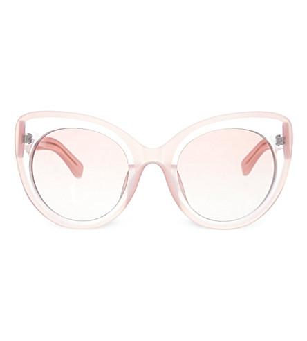 MARKUS LUPFER EDM144 cat-eye sunglasses (Pale+pink