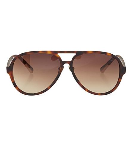 ERDEM Tortoiseshell sunglasses (Silver