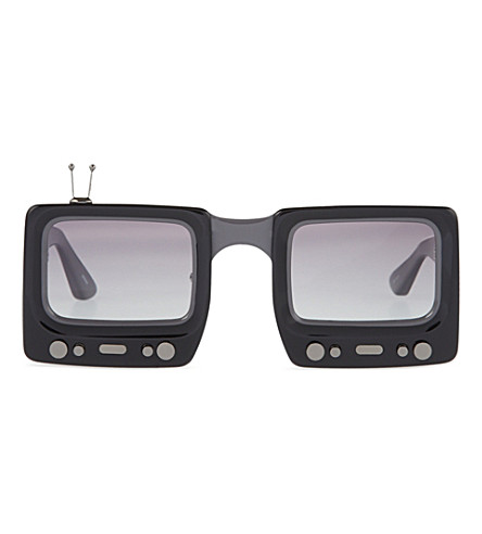 JEREMY SCOTT Television sunglasses (Black