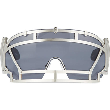 KTZ Football helmet sunglasses (Silver