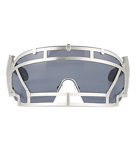 KTZ Football helmet sunglasses (Silver
