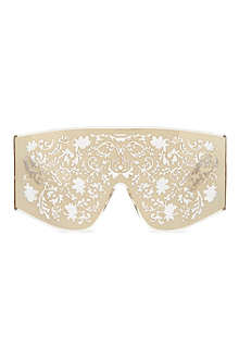 KTZ Gold metal lace sunglasses