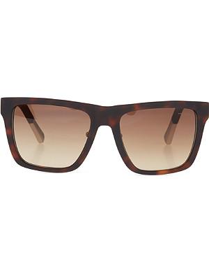 KRISVANASSCHE Rubberised tortoiseshell sunglasses