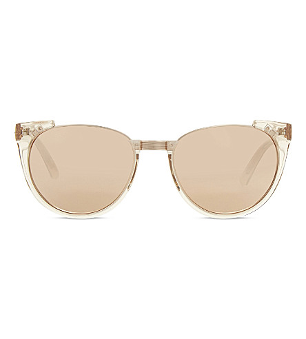 LINDA FARROW LFL136 aviator sunglasses (Ash