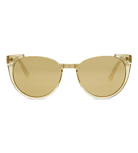 LINDA FARROW LFL136 cat-eye sunglasses (Dew