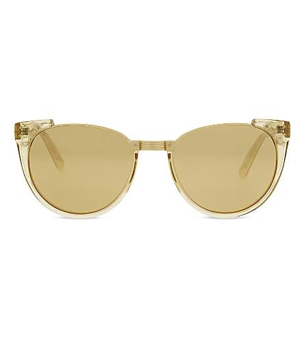 LINDA FARROW LFL136 猫眼太阳镜 (露水