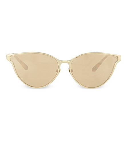LINDA FARROW LFL162 cateye sunglasses (Gold & tortoiseshell