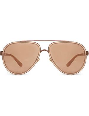 LINDA FARROW LFL165 aviator sunglasses