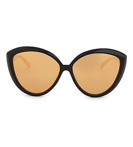 LINDA FARROW Lfl241 cat-eye sunglasses (Black