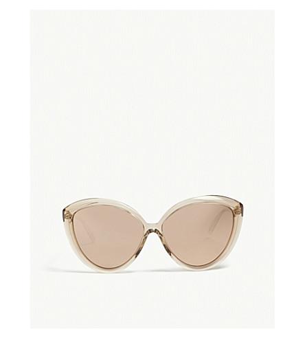 LINDA FARROW Lfl241 cat eye-frame sunglasses (Ash
