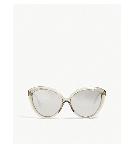 LINDA FARROW LFL241 cat-eye sunglasses (Truffle