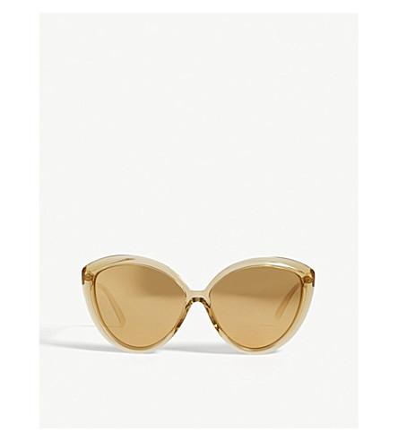 LINDA FARROW LFL241 cat-eye sunglasses (Dew