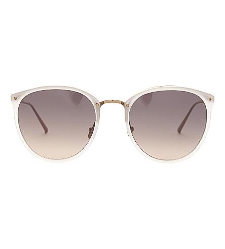LINDA FARROW Lfl251 oval sunglasses (Candyfloss