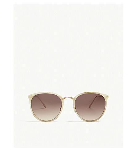 LINDA FARROW LFL251 oval-frame sunglasses (Quartz