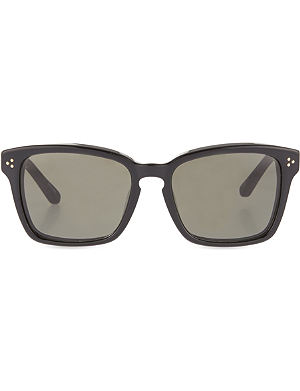 LINDA FARROW Acetate sunglasses