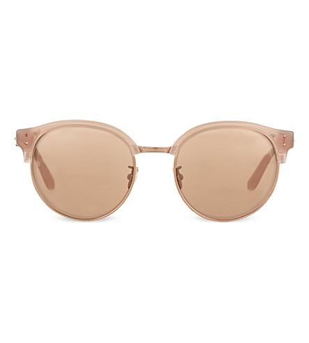 LINDA FARROW LFL292 mirror lens sunglasses (Mink & mirror lens