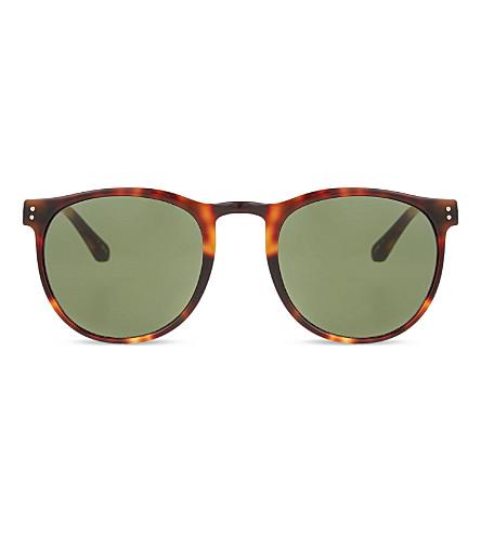 LINDA FARROW LFL354 classic sunglasses (Tortoise&yellow gold