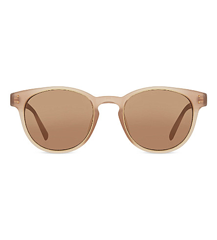 LINDA FARROW LFL3555 classic keyhole sunglasses (Mink