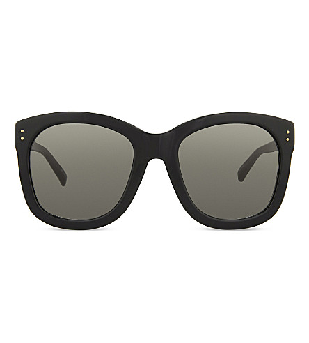 LINDA FARROW Lfl513 square-frame sunglasses (Black