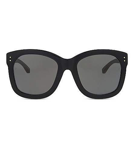 LINDA FARROW Lfl513 oversized sunglasses (Black
