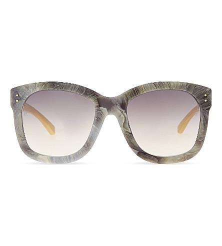 LINDA FARROW Lfl513 oversized sunglasses (Marble