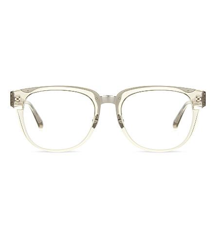 LINDA FARROW LFL522 C3 D-frame optical glasses (Truffle