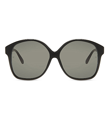 LINDA FARROW Lfl570 oversized sunglasses (Black